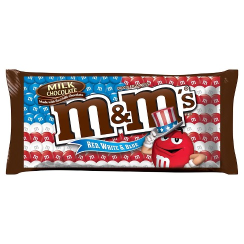 M&M's Red, White & Blue Milk Chocolate Candies - 11.4oz - image 1 of 2