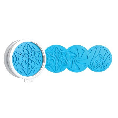 Tovolo Winter Wonderland Cookie Cutters Set of 6 Ice Blue 81-4481