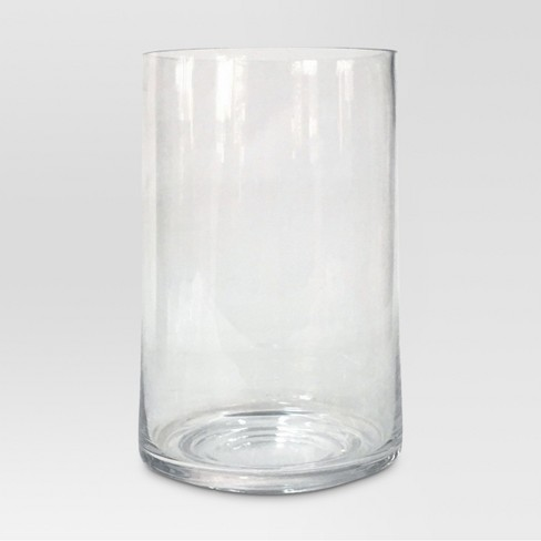 Glass Candle Holder Clear Large - Threshold™ - image 1 of 1