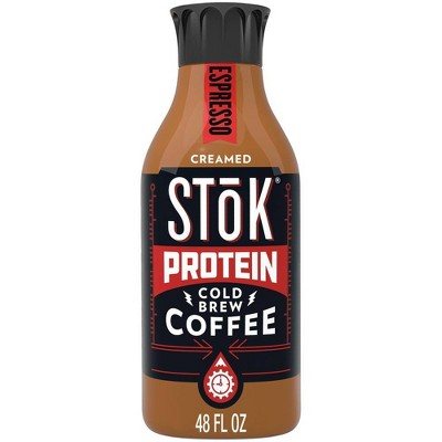 Coffee Drinks: SToK Protein Cold Brew Coffee