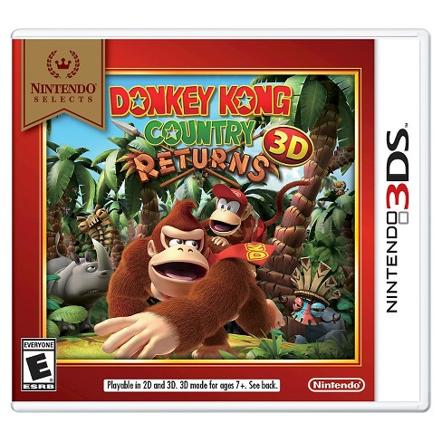 Nintendo Selects: Donkey Kong Country Returns 3D Nintendo 3DS - image 1 of 1