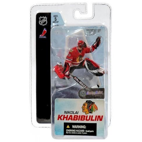McFarlane Toys NHL Chicago Blackhawks Sports Picks 3 Inch Mini Series 3 Nikolai Khabibulin Mini Figure - image 1 of 1