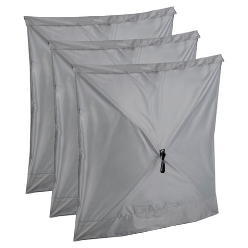 Clam Quick Set Screen Hub Gray Fabric Wind & Sun Panels, Accessory Only (3 pack) - image 1 of 4