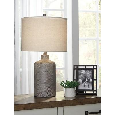Linus Table Lamp Antique Black - Signature Design by Ashley
