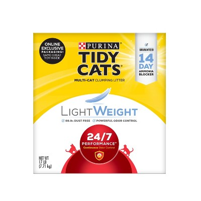 Tidy Cats 24/7 Performance Lightweight - 17lb