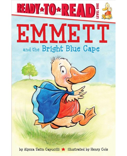 Emmett and the Bright Blue Cape -  by Alyssa Satin Capucilli (School And Library) - image 1 of 1