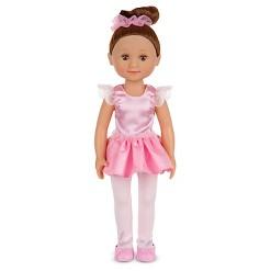 Melissa & Doug Victoria 14-Inch Poseable Ballerina Doll With Leotard and Tutu