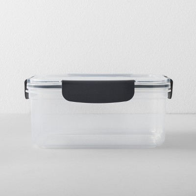 Rectangular Plastic Food Storage Container 7 cup - Made By Design™