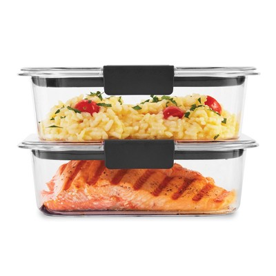 Rubbermaid 3.2 cup 2pk Brillance Food Storage Container