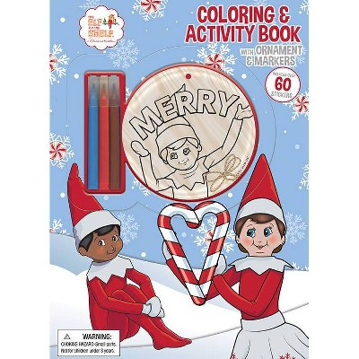 - Elf On The Shelf Coloring Book With Ornament : Target
