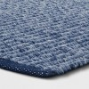 2'X3' Woven Ikat Design Accent Rug Dark Chambray - Threshold™ - image 2 of 3