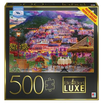 Milton Bradley Big Ben Luxe: Amalfi Coast Jigsaw Puzzle - 500pc