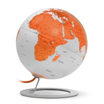 iGlobe Illuminated Designer Globe Light Orange - Waypoint Geographic
