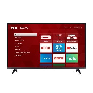 "TCL 40"" Class 3-Series Full HD Smart Roku TV – 40S325"