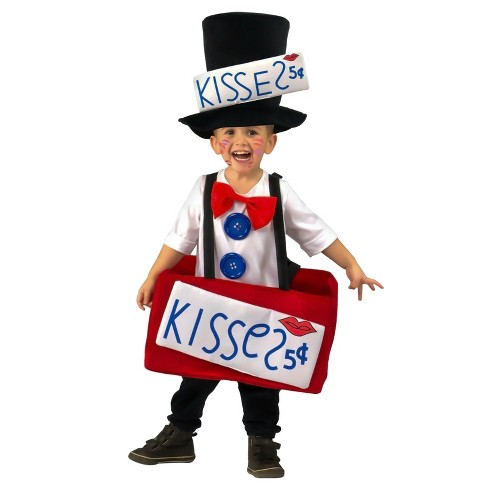 Baby Kissing Booth Costume 12M-2T - image 1 of 1