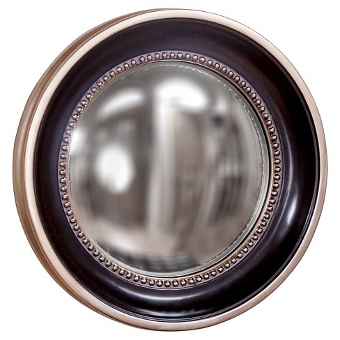 Rectangle Patterson Decorative Wall Mirror Black - Howard Elliott - image 1 of 1