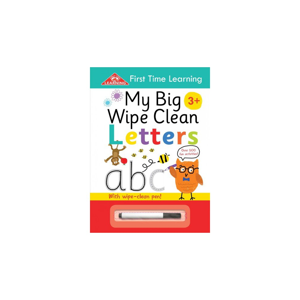 My Big Wipe Clean Letters : Over 200 Fun Activities (Paperback)