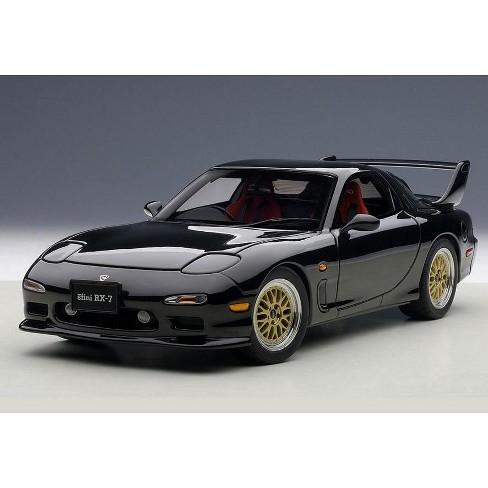 Mazda Rx7 Fd >> Mazda Rx 7 Fd Tuned Version Brilliant Black 1 18 Diecast Model Car By Autoart