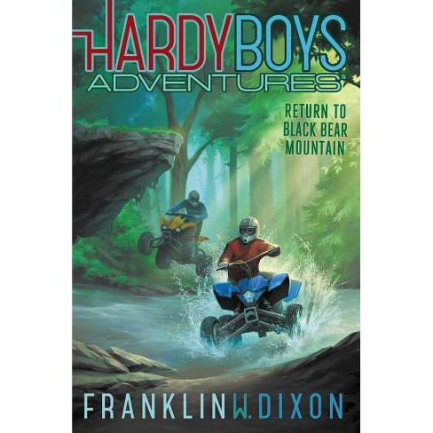 Return to Black Bear Mountain - (Hardy Boys Adventures) by  Franklin W Dixon (Hardcover) - image 1 of 1