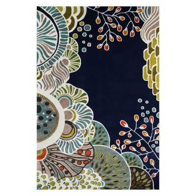 New Wave Ilias Floral Tufted Rug - Momeni