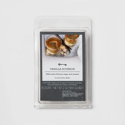 6ct Vanilla Bourbon Scented Wax Melts - Threshold™