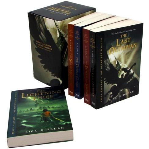 Percy Jackson pbk 5-book boxed set by Rick Riordan (Paperback) - image 1 of 2
