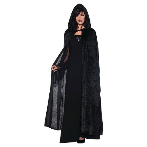 "Adult Costume Hooded Cloak 55"" - image 1 of 1"