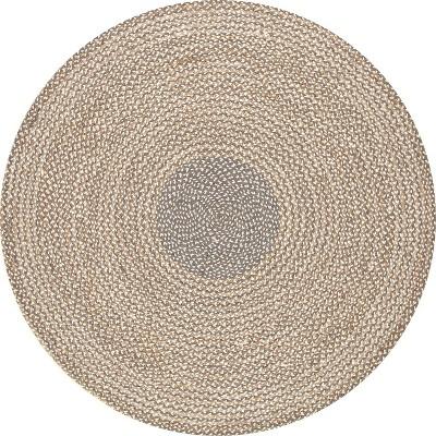 nuLOOM Braided Draya Jute Area Rug