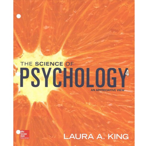 Science of Psychology : An Appreciative View (Paperback) (Laura A. King) - image 1 of 1