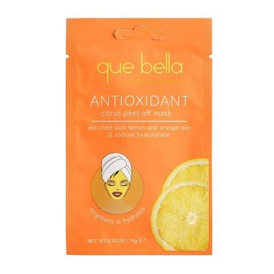 Que Bella Antioxidant Citrus Peel Off Mask - 0.5 fl oz