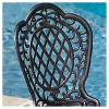 Cole 3pc Cast Aluminum Patio Bistro Set - Bronze - Christopher Knight Home - image 4 of 4