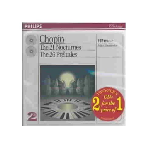 Adam  Fr'd'ric; Harasiewicz Chopin - Chopin: Nocturnes 01-21 (CD) - image 1 of 1