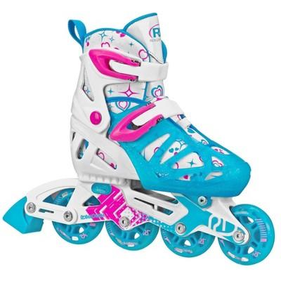 Roller Derby Tracer Adjustable Kids' Inline Skate - White