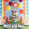 8ct Bright And Bold 50th Birthday Invitations - image 2 of 2