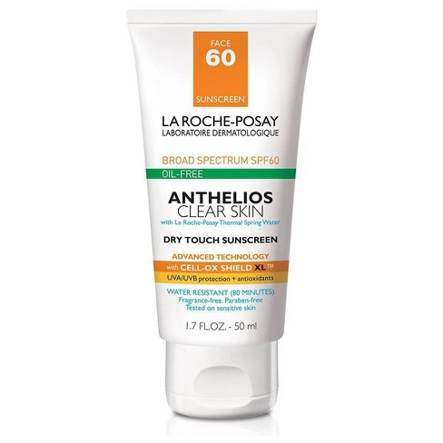La Roche Posay Anthelios Clear Skin Oil Free Dry Touch Sunscreen Lotion - SPF 60 - 1.7oz - image 1 of 4