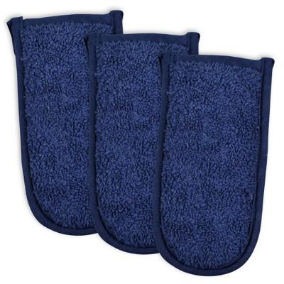 3pk Cotton Terry Pan Handles Set - Design Imports