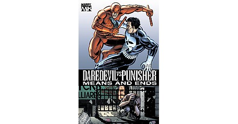 Daredevil vs. Punisher : Means and Ends (Paperback) (David Lapham) - image 1 of 1