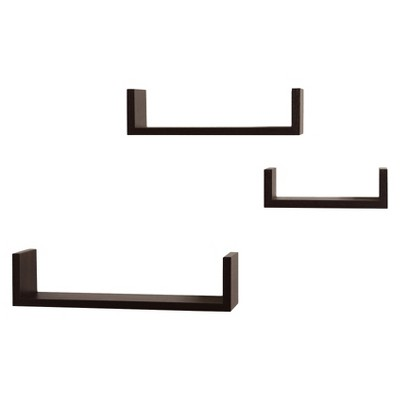 Nesting Shelves 3 Pack - Espresso