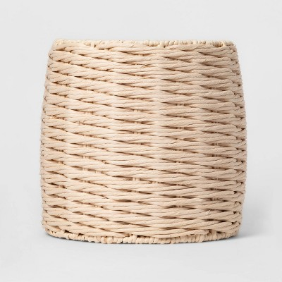 Tall Round Paper Rope Basket White - Project 62™