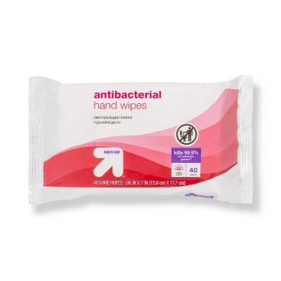 Antibacterial Moist Wipes Fresh Scent - 40ct - up & up™