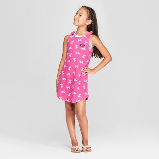 Girls' JoJo Siwa Cover-Up - Pink XS