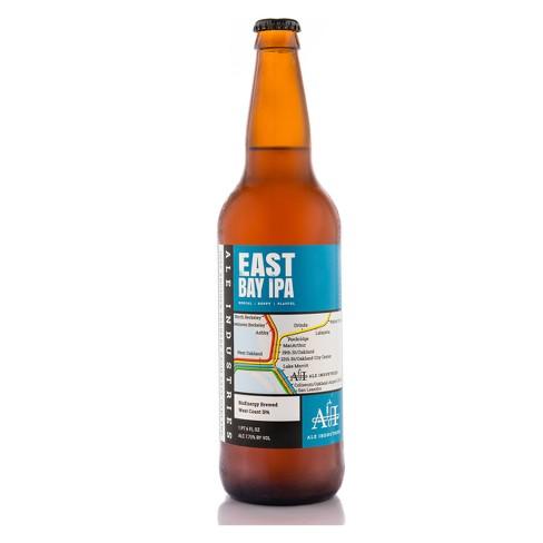 Ale Industries East Bay IPA - 22 fl oz Bottle - image 1 of 2