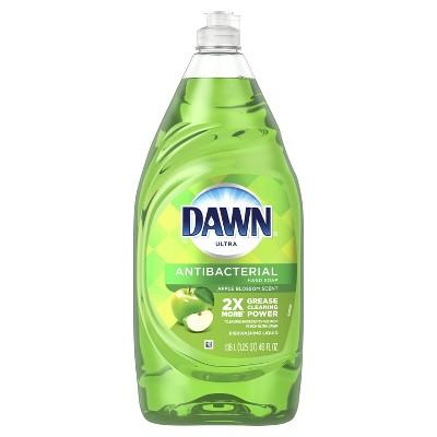 Dawn Ultra Antibacterial Hand Soap- Dishwashing Liquid Dish Soap - Apple Blossom Scent - 40 fl oz