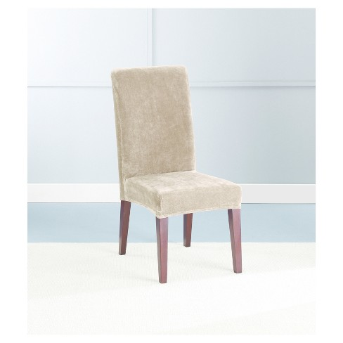 Stretch Plush Short Dining Room Chair Slipcover Sure Fit