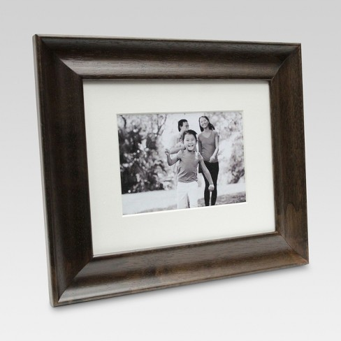 Espresso Finish Matted Wall Frame - Threshold™ - image 1 of 4