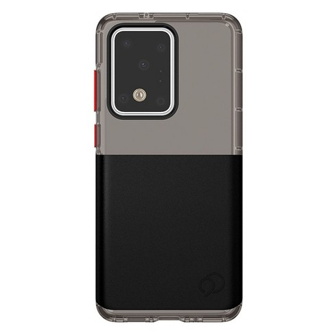 Nimbus9 - Ghost 2 Pro Case For Samsung Galaxy S20 Ultra - Pitch Black And Crimson - image 1 of 3