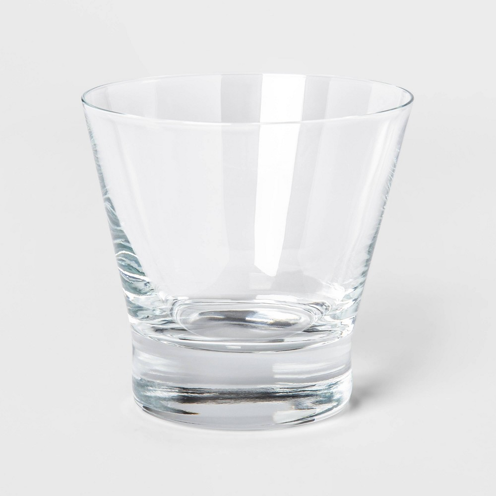 Image of 10.7oz 4pk Stemless Cocktail Glasses - Threshold , Clear