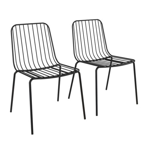 Set of 2 Callie Wire Dining Chair - Room & Joy - image 1 of 4