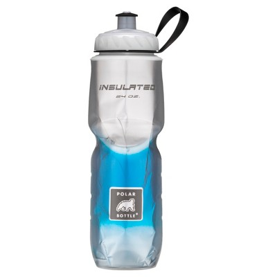 Polar® 24oz Insulated Water Bottle - Blue/Silver