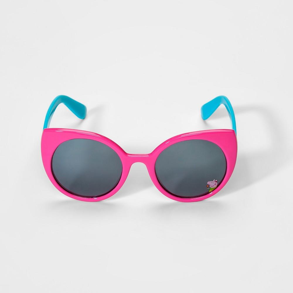 Toddler Girls' Peppa Pig Sunglasses - Pink/Blue
